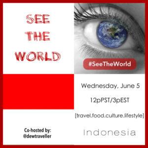 Indonesia #SeeTheWorld Chat