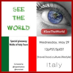 Italy #SeeTheWorld Chat