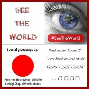 #SeeTheWorld Japan