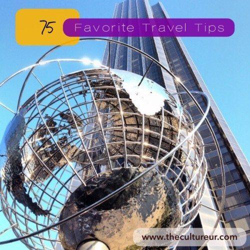 75 favorite travel tips