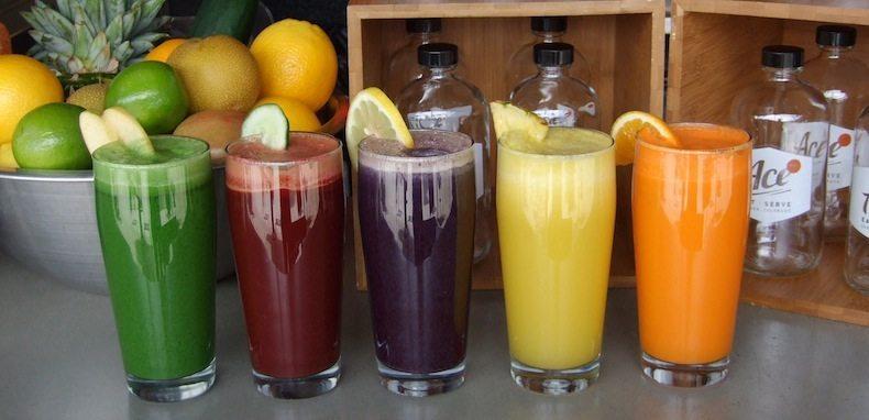 juice bars LA