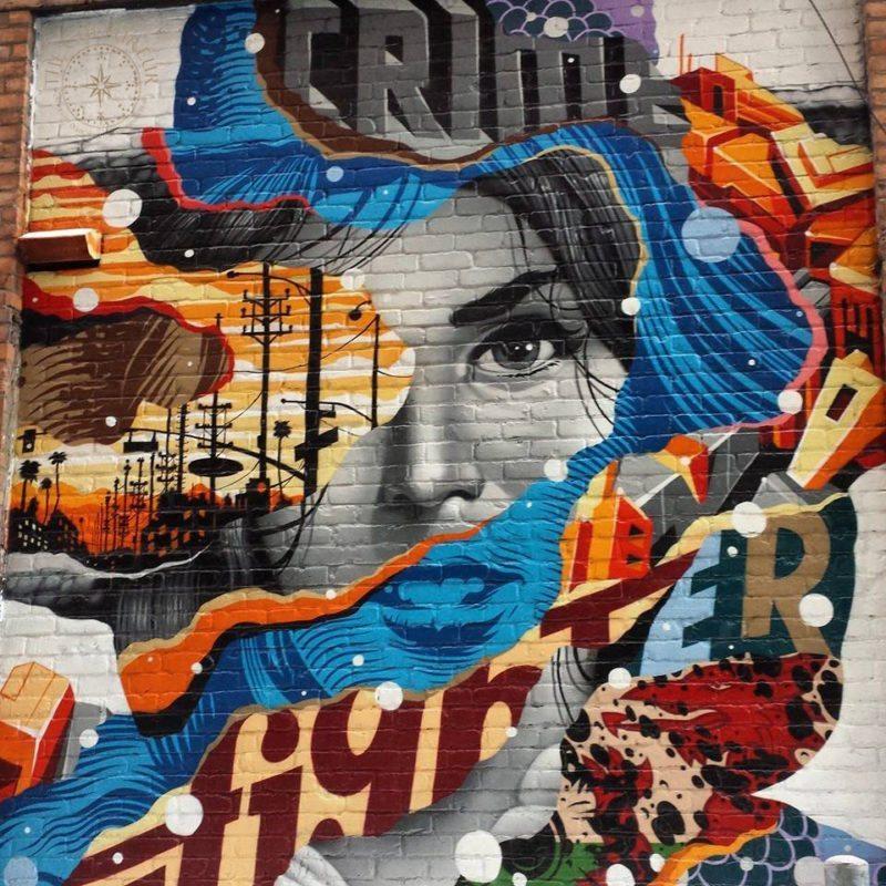 The Z - mural